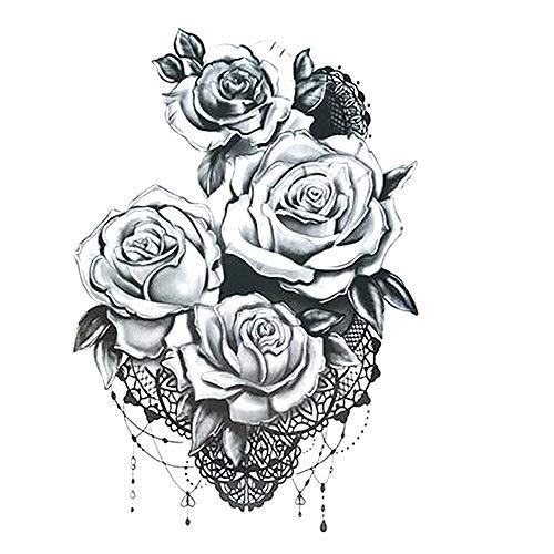 Tatouage temporaire, autocollants corps pour l'homme et les femmes, les tatouages temporaires Autocollants, Bras Faux poitrine tatouages épaule