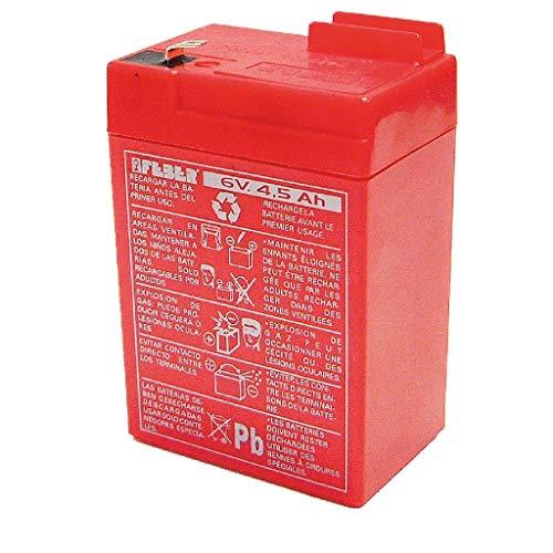 FEBER 800003104 - Batería 6V 4,5Ah