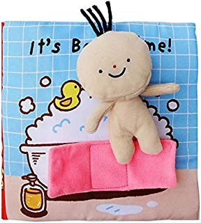 SKEIDO Baby Early Education puzzle Cloth Book 0-3 Years Old Kids Toys for Children Enlighten on Shower Book for Boys Girls