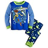 Disney Store Toy Story Woody Boy 2 PC Long Sleeve Tight Fit Cotton Pajama Set Size 6