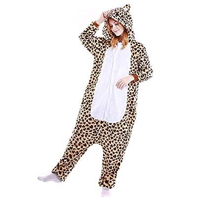 Unisex Adult Animal Cosplay Pajamas Onesie Halloween Role Play Flannel Pajamas