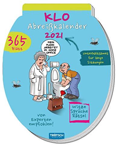 """Tageskalender """"Klokalender"""" 2021: zum Abreißen, 12 x 17 cm (Geschenkkalender)"""
