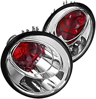 Spec-D Tuning LT-BEE98-APC Euro Chrome Altezza Tail Lights Rh+Lh For Volkswagen Beetle