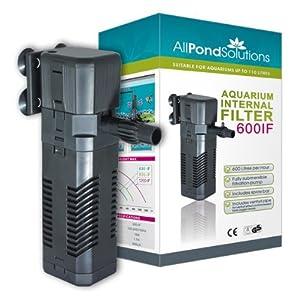 All Pond Solutions 600IFAquarium Internal Filter, 600 Litre/ Hour