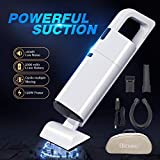 Bichiro Handheld Vacuum, Cordless Hand Vacuum Cleaner with Strong Suction, Portable Rechargeable Wet