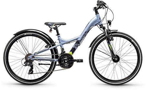 S'Cool XXlite Alloy 24R 21-S Kinder Fahrrad (Rahmenhöhe 31cm, darkrey/Black matt)