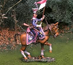 Napoleonic Toy Soldiers Polish Cavalry Lancer Canting Collectors Showcase Toy Soldiers Painted Metal Figure CS00692 Britains King Country Type