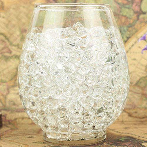 MZY1188 Ornamenti della pianta in Vaso del Giardino 500pcs! Pianta acquatica Fiore Jelly Crystal Soud Mud, Perle d'Acqua Gel Perle Palline Decorazione Vaso Cristallo