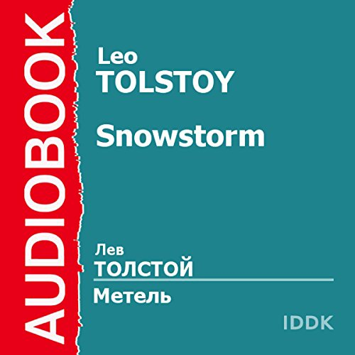 The Snowstorm [Russian Edition] audiobook cover art