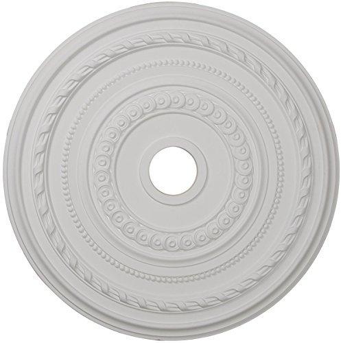 Ekena Millwork CM25CO 25 3/8-Inch OD x 3 3/8-Inch ID x 1 3/8-Inch P Cole Ceiling Medallion by Ekena Millwork