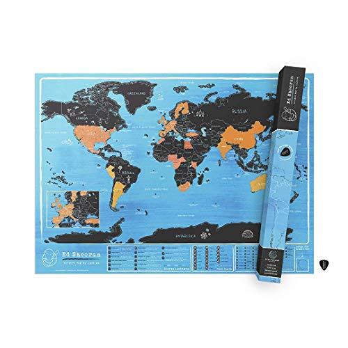Luckies of London Lukteddy ed Sheeran scratch mappa