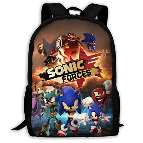 Hengtaichang Ding Hao 88 Boys Girls So_Nik_Hedge School Bag Backpack Bookbag College Shoulder Bag for Travel