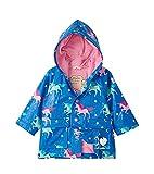Hatley Printed Raincoat Impermeable Estampado, Twinkle Unicorns, 12-18 Months Bebé-Niñas