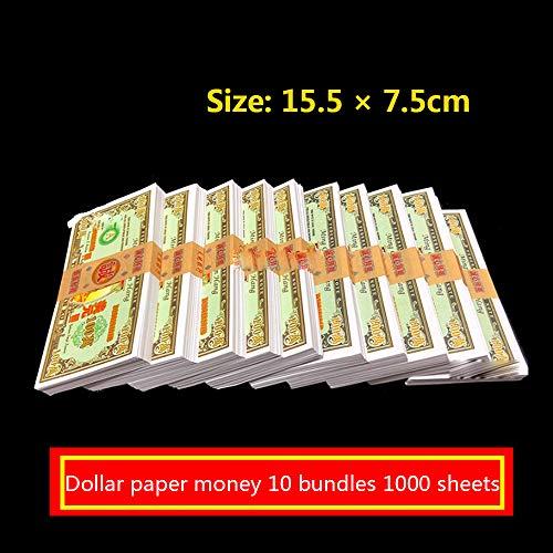 Chnzyr Höllenbanknoten Für Bestattungen 10 Bündel 1000 Blatt Hell Banknoten Für Beerdigungen Mehrere Stückelungen Joss Paper 15 * 7 cm