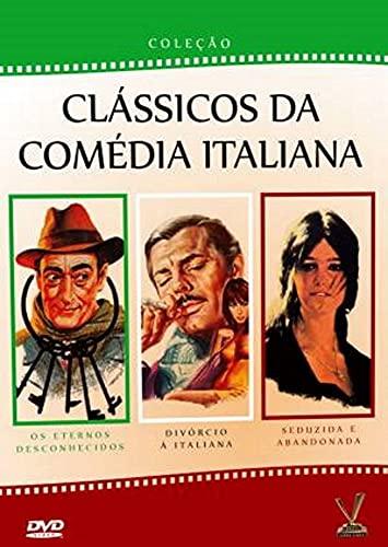 Box Clássicos da Comédia Italiana ( Os Eternos Desconhecidos - Divórcio à Italiana - Seduzida e Abandonada )