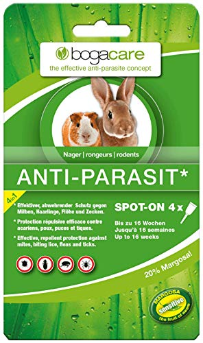Bogacare UBO0443 Anti-Parasit Spot-On Nager, 4 x 0.4 ml