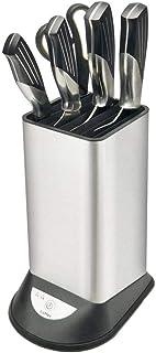Joojun Soporte de Cuchillo de desinfección Inteligente de Acero Inoxidable, esterilizador de Soporte de Cuchillo de Carga USB para Almacenamiento de Herramientas de Cocina