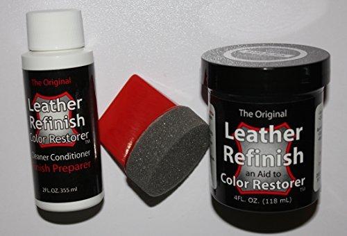 Leather Repair Kit/Leather Color Kit/Cleaner/Color Restorer/Sponge Applicator...