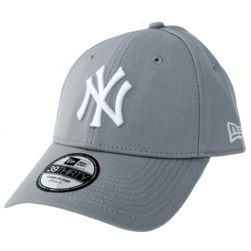 New Era 39Thirty League Basic New York Yankees, Gorra para Hombre, Gris...