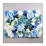 YNGJUENCP Pantalla De Pared De Flores Artificiales Panel De Pantalla Floral 60x40cm (24'x16) para Trellis Privacy Hedge Body Body Fotografía Fondo(Color:01)