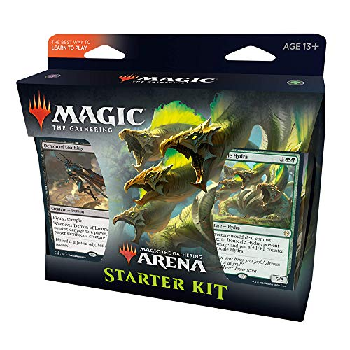 Kit Inicial de Magic. The Gathering Arena, 2 Decks de Iniciante, Card de código de MTG Arena, Multicor