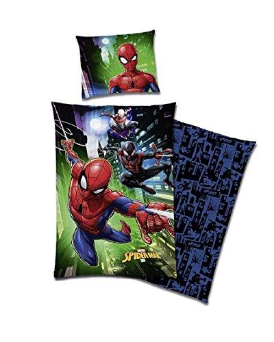 tex Idea Gmbh Marvel Spiderman Wende Bettwäsche Baumwolle Renforce 135x200 Spider Man