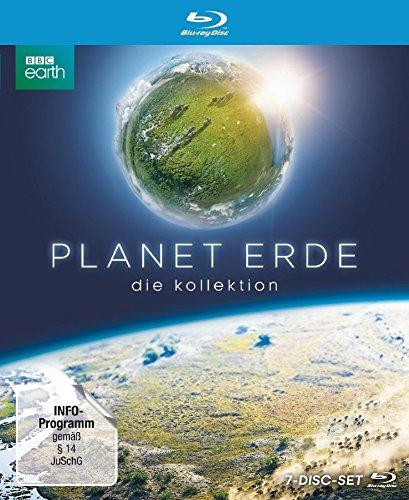 Planet Erde - Die Kollektion. Limited Edition im edlen Bookpak. Planet Erde & Planet Erde II erstmals in einer Sammelbox. [Blu-ray]