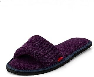 MF Home Footwear Women's House Slippers Open Toe comfortable Soft Sole Bedroom Indoor Carpet Home Slipper