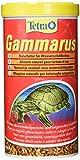 Tetra Gammarus – Aliment 100% naturel pour tortues aquatiques – Crevettes séchées - Riche en calcium, fibres et sels minéraux - 1L
