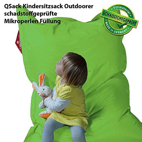 QSack Kindersitzsack 100x140 cm (apfelgrün)