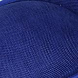 FHKGCD Tocado De Cóctel Sombrero De Bodas para Mujer Paja Fedora Vestido De Iglesia Sinamay Derby Sombreros De Fiesta, Azul Real,
