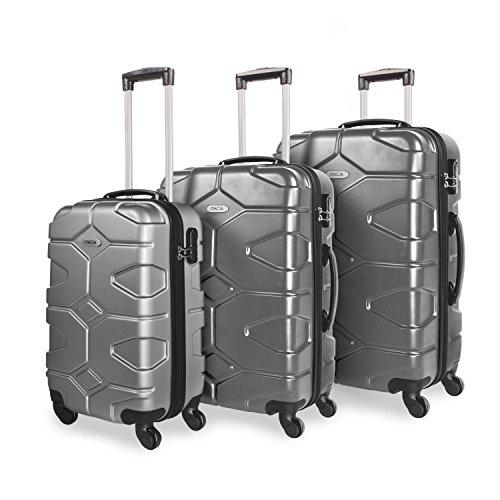 ITACA , Set di valigie Argento Argento