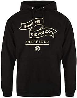 Men's Banner Hooded Sweatshirt Black