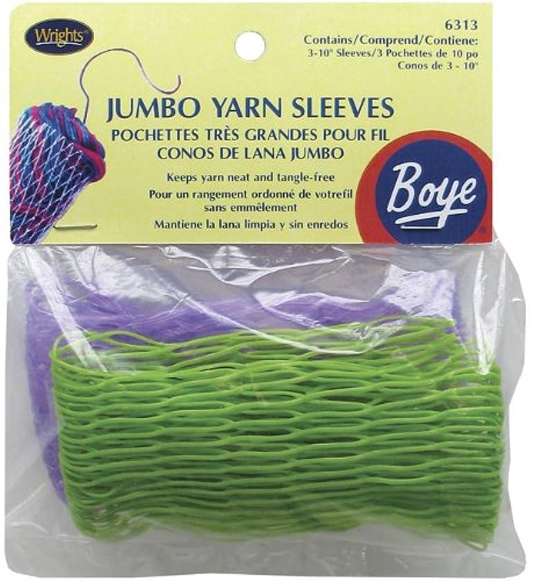 Boye Jumbo Yarn Sleeves, 3/Pkg