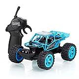 DFERGX 1:32 Mini RC Car LED Light RC High-Speed Drift Car 25km / H 2.4g Wireless RC Car Vehículo Todoterreno Coche De Juguete Eléctrico Regalos para Adultos Y Niños Regalo De Cumpleaños