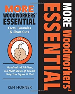 More Woodworkers' Essential Facts, Formulas & Short-Cuts: Hundreds of All New , No-Math Rules of Thumb Help You Figure it Out (Woodworker's Essentials & More)