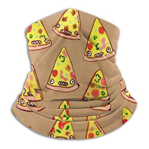 nonebrand Ham En Ananas Pizza Unisex Warmer Neck Oorband Hoofdband & Gezicht Sjaal Koud Weerbescherming Multifunctionele Hoofddeksels