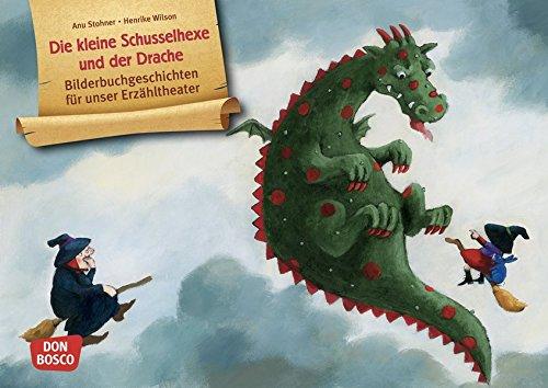 Die kleine Schusselhexe und der Drache. Kamishibai Bildkartenset.: Entdecken - Erzählen - Begreifen: Bilderbuchgeschichten (Bilderbuchgeschichten für unser Erzähltheater)