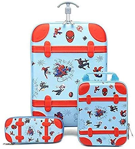 AAZX Children's trolley school bag, children climbing stairs, luggage, travel three-dimensional suitcase, children's pencil box, luggag,4