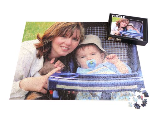 504 Piece Personalized Custom Jigsaw Puzzle, 16x20in. Upload Your own Photo and Text