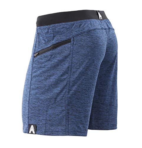 """Anthem Athletics Hyperflex 7"""" Workout Training Gym Shorts - Iron Navy G2 - Large"""