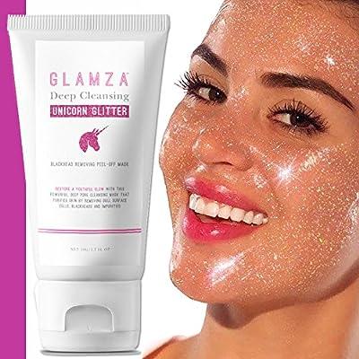 Glamza Deep Cleansing Unicorn Glitter Blackhead Removing Peel-Off Mask by Glamza
