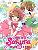 CardCaptor Sakura Coloring Book: 50+ Pages with Premium Outline Images With Easy-to-color, Clear Shapes, Printed on a High-quality Paper That Can Be ... Pencils, Pens, Crayons, Markers or Paints