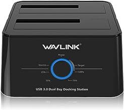 WAVLINK Base de conexión USB 3.0 a SATA Disco Duro Externo