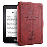 "ProElite Deer Smart Flip case Cover for Amazon Kindle 6"" 10th Generation 2019 [Wine Red] kindle paperwhite case Nov, 2020"