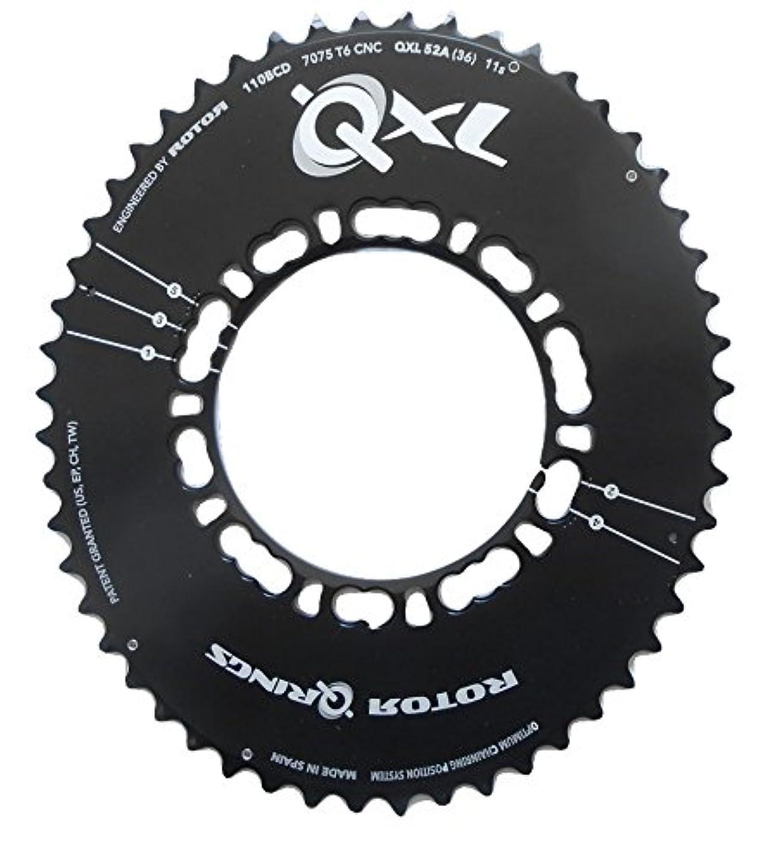 アメリカ慣れているイデオロギーRotor(ローター) QXL アウターチェーンリング 110 PCD COMPACT ROAD [並行輸入品]