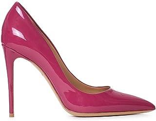 Salvatore Ferragamo Mujer 10001L434655470 Fucsia Cuero Zapatos