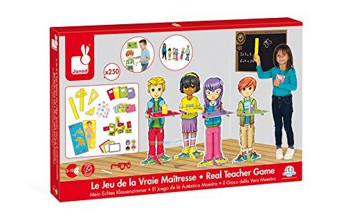 Janod Jura Toys J430012 Lehrer-Spiel