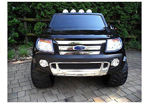 RC Auto kaufen Kinderauto Bild 6: Elektro Kinderauto Elektrisch Ride On Kinderfahrzeug Elektroauto Fernbedienung - Ford Ranger 2-Sitzer - Schwarz*