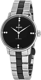 Rado - Reloj clásico automático de mujer con esfera negra R22862772